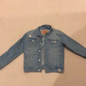 Boys size medium levi's denim jacket
